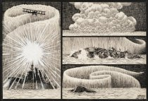 Image of [bombing of ship] - McCay, Winsor, 1867?-1934